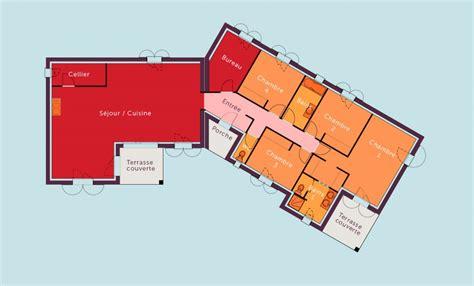 plan maison plain pied 3 chambres 1 bureau plan maison plain pied 3 chambres 1 bureau 9 devisplan