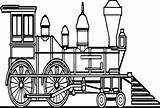Train Coloring Steam Locomotive Sheets Pages Printable Clrg Tsgos sketch template