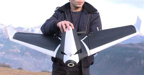 parrots disco drone flies  mph    mp camera   nose