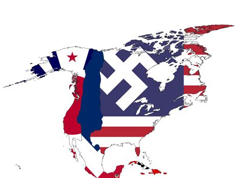 flags of North America (The Man in the High Castle ...