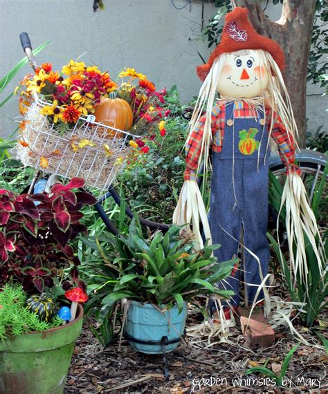 what fall looks like in central florida garden whimsies