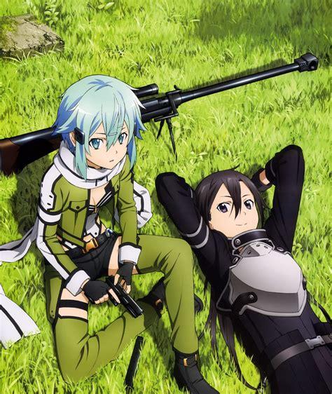 gun gale online sword art online kirito sinon gun
