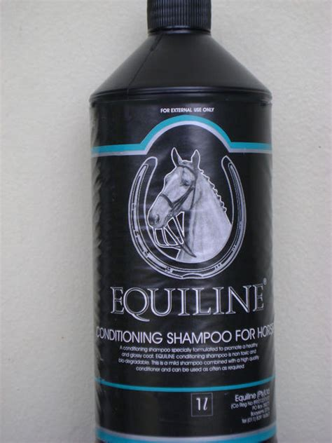 Shampoos & Conditioners - EQUILINE HORSE SHAMPOO FOR HUMAN