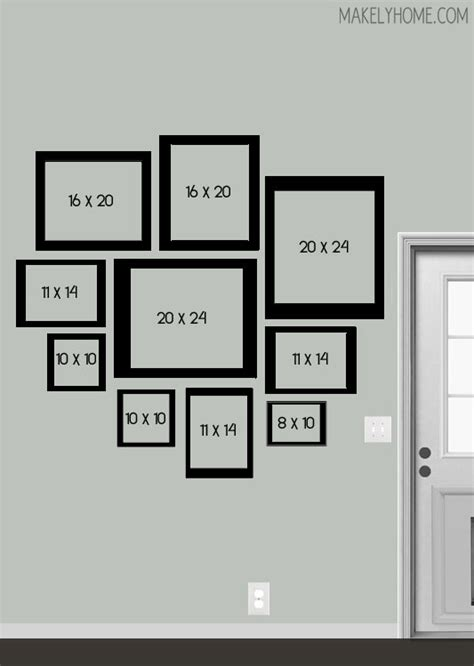 floor layout ideas photo gallery s blank wall a new digital gallery wall design