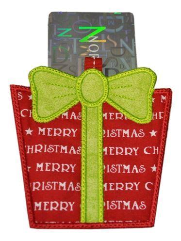 hoop gift card holder    hoop