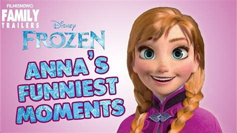 frozen annas  funny moments youtube