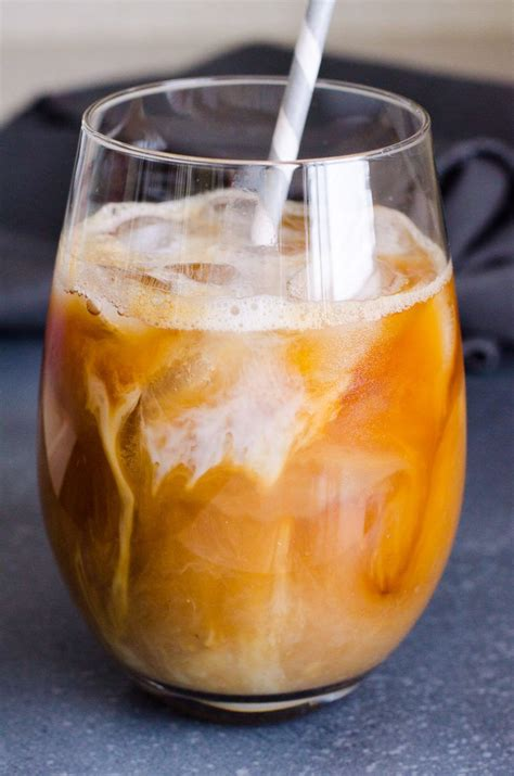 You'd need to walk 25 minutes to burn 90 calories. Healthy Iced Coffee Recipe with almond milk, sugar free ...