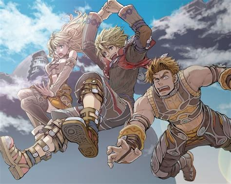 Xenoblade Chronicles Fan Art Inspirations Pinterest