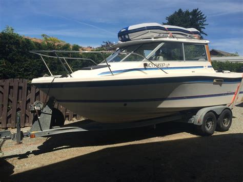 Trophy Boats Vancouver by 22 Foot Bayliner Trophy With Trailer Great Fishing Boat
