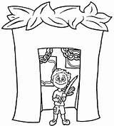 Sukkot Coloring Pages Tabernacles Feast Printable Preschool Simchat Torah Sukkah Familyholiday Jewish Activities Template Crafts Class Resize Holidays Holiday Getcolorings sketch template