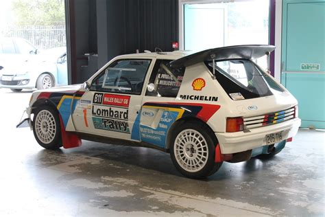 Peugeot T16 by Peugeot 205 T16 Rally Car Racing Rally Car Cars
