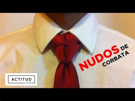como hacer un nudo de corbata actitudfem