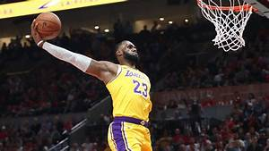 Lebron James Lakers Debut Features Dunks Highlights Team