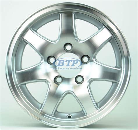 Aluminum Boat Trailer Wheels by Aluminum Boat Trailer Wheel 14 Inch 7 Spoke 5 Lug 5 On 4 1