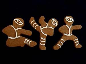 Twelve Days of Christmas Cookies: Ninja-bread Men No