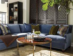 blue jean sectional sofa home the honoroak With denim sectional sofa with chaise raf