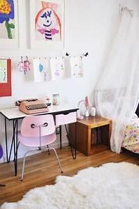Bureau Chambre Fille : le bureau d 39 ecolier vintage les enfants adorent ~ Teatrodelosmanantiales.com Idées de Décoration