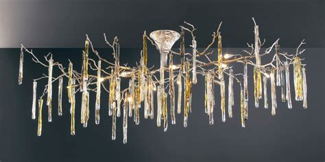 Glamour Collection of Lamps by Serip Inspired by Winter