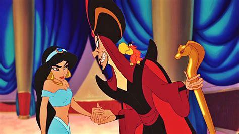jafar wizard  jasmine princess  aladdin cartoon walt
