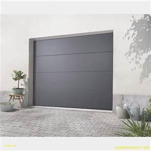 impressionnant porte de garage sectionnelle castorama With porte garage sectionnelle castorama