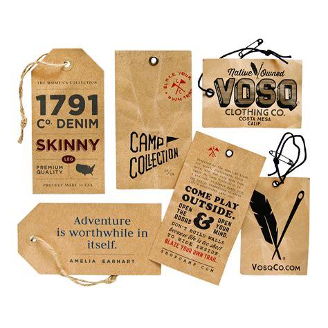 clothing hang tags custom   cbf labels