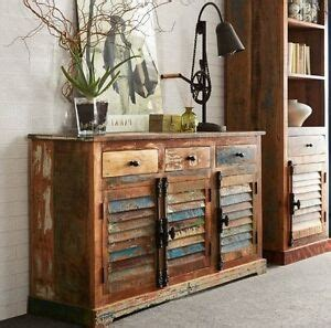Indian Wood Sideboard by Shabby Chic Sideboard Large Wooden Indian Buffet Cabinet