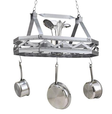 pot hanging rack hi lite sonoma hanging pot rack