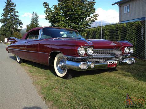 59 Cadillac Series 62 Convertible