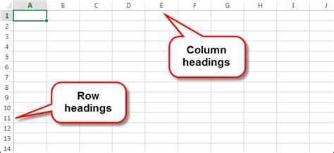 print  gridlines  row  column headings