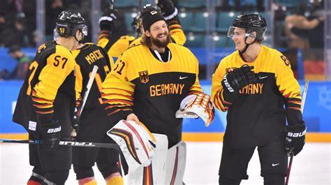 Nati bezeiten gegen die briten. Olympia 2018: Deutsches Eishockey-Team besiegt Norwegen
