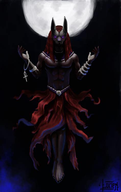 Anubis The Werewolf God By Thaedoris On Deviantart