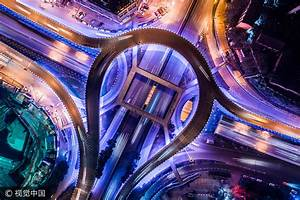 Chongqing overpasses an impressive sight from the air[2 ...