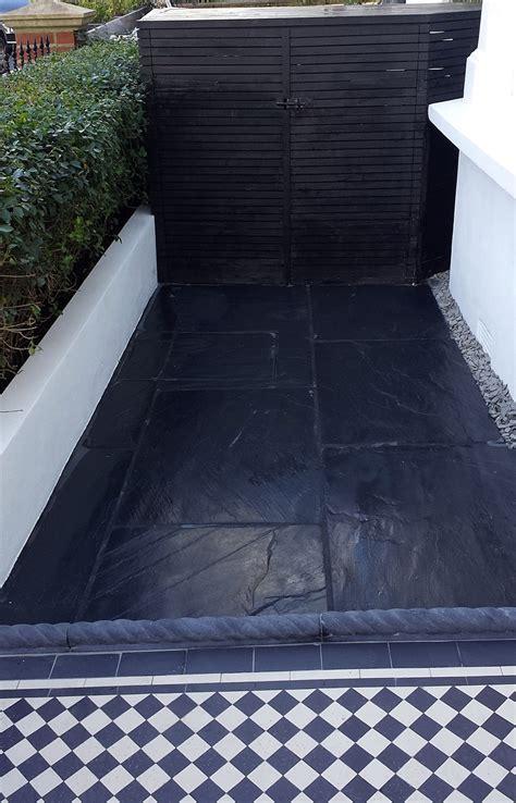 black slate tiles outdoor ? Home Decor
