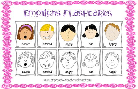 esl efl preschool teachers feelings emotions theme 428 | Imagen9