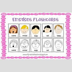 Eslefl Preschool Teachers Feelings Emotions Theme