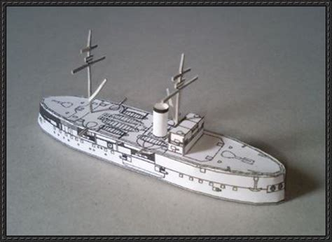 Origami War Boat by Papercraftsquare New Paper Craft Japanese Ironclad