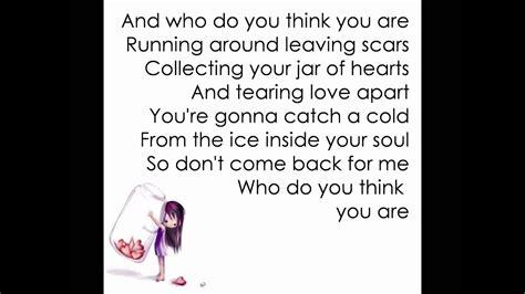 christina perri jar  hearts lyrics youtube