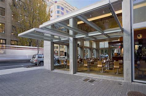 isabel restaurant doors  turner exhibits glazed