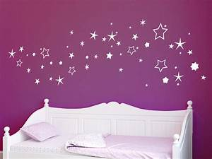 Wandtattoo sternenhimmel set wandtattoo de for Sternenhimmel fürs kinderzimmer