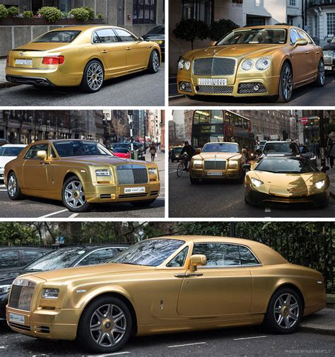 gold supercars  london gold blog