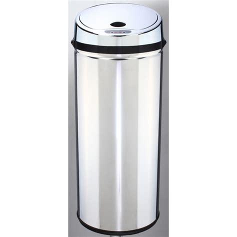 poubelle de cuisine automatique poubelle à ouverture automatique métal 42l maison futée