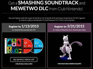 Super Smash Bros Soundtrack And Mewtwo Dlc From Club