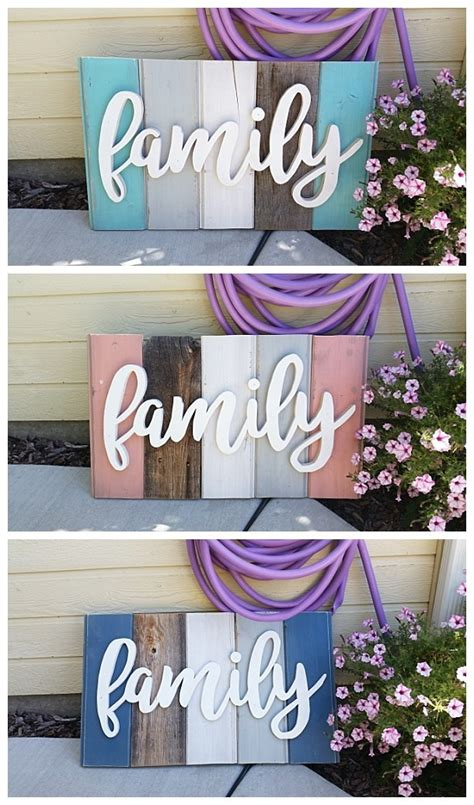 "These home ideas will add the perfect touch to your home. New ""Old"" Distressed Barn Wood Word Art Indoor/Outdoor ..."