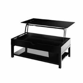 Table Basse Relevable Pas Cher : table basse noir laqu pas cher table basse et pliante ~ Teatrodelosmanantiales.com Idées de Décoration