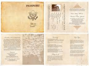 60 best claudia images on pinterest passport template With free printable passport wedding invitations