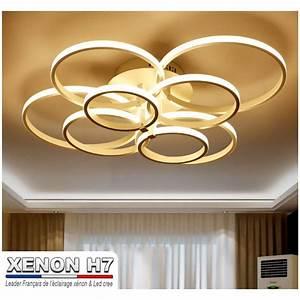 Lustre Salon Moderne : lustre led de salon moderne luminaire d 39 int rieur ~ Voncanada.com Idées de Décoration