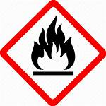 Safety Flammable Hazard Fire Symbol Danger Icon