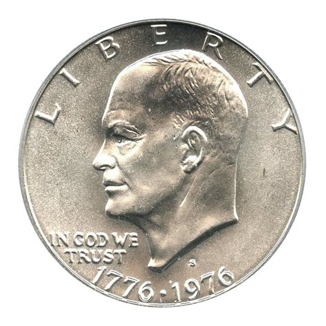eisenhower dollar value 1976 s eisenhower dollar 1 pcgs ms67 silver buy sell certified rare coins coin values
