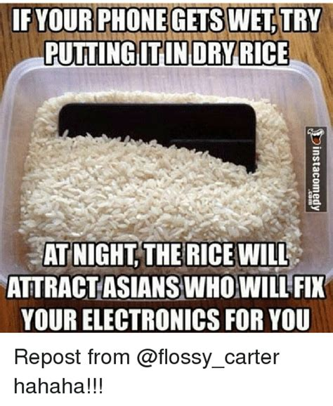Phone In Rice Meme - funny flossy carter memes of 2017 on sizzle flossie