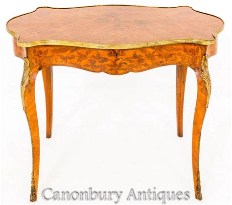 table bureau empire writing table desk marquetry inlay bureau